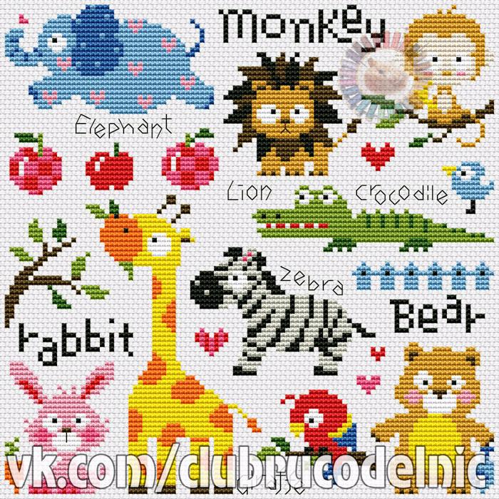 Little Zoo (700x700, 803Kb)