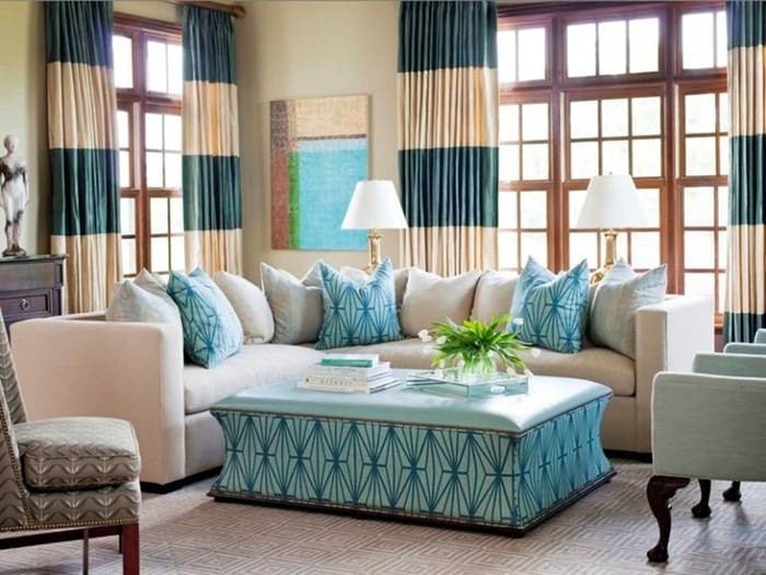 Стильные интерьеры гостиной для пяти поколений