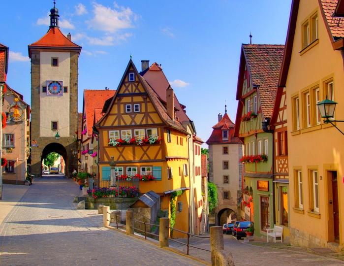 3. Ротенбург, Германия (700x540, 498Kb)