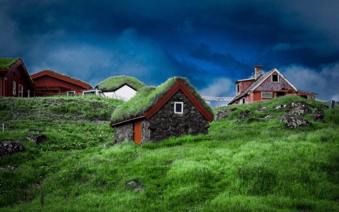 10. Квивик, Фарерские острова. (700x437, 347Kb)