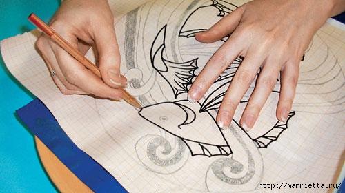 Мастер-класс по переводу рисунка на ткань (19) (500x280, 111Kb)