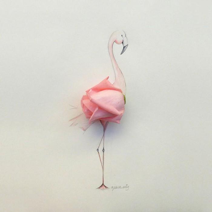 Испанский художник Хесус из Малаги и его цветочные и другие фантазии