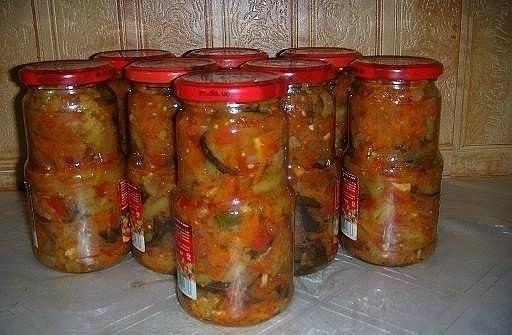 баклажаны на зиму рецепты с фото