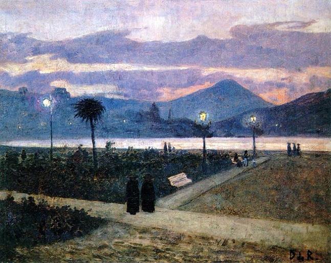 1895 NOCTURNO DE LA CONCHA.PASEO ALDERDI EDER (647x515, 434Kb)