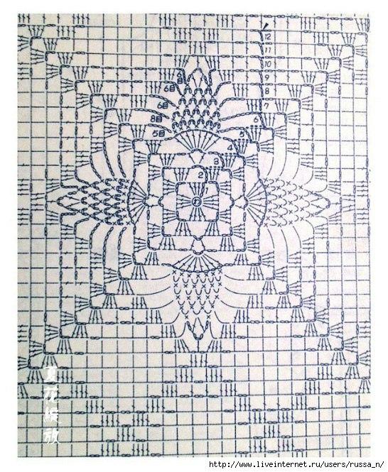 pul-kvadrat ananas (546x665, 443Kb)