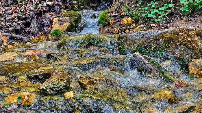 Ручей в Долине Семи Ключей на Наре