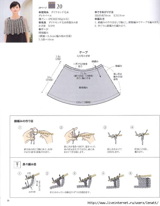 онлайн по японским журналам по вязанию