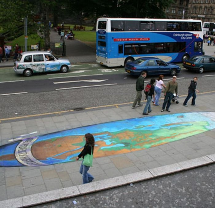 Потрясающий уличный арт! Ремесленникам от искусства должно быть стыдно