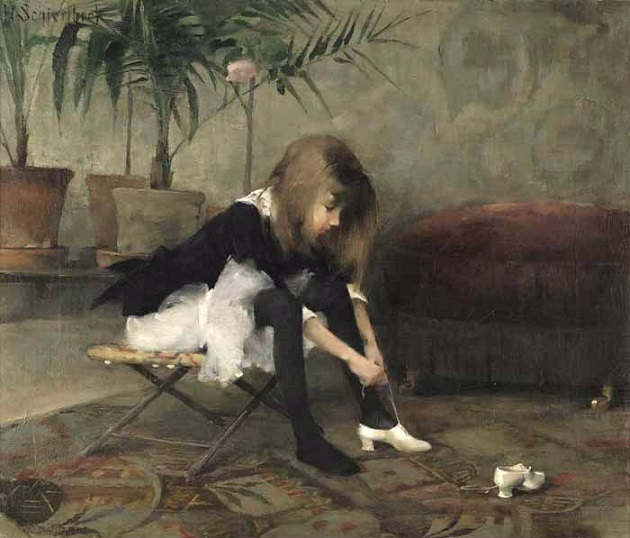 The dancing shoes, 1882 (630x538, 248Kb)