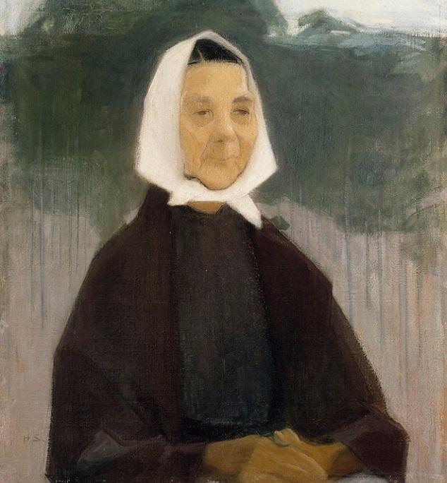 Старушка, 1907.. (634x684, 347Kb)