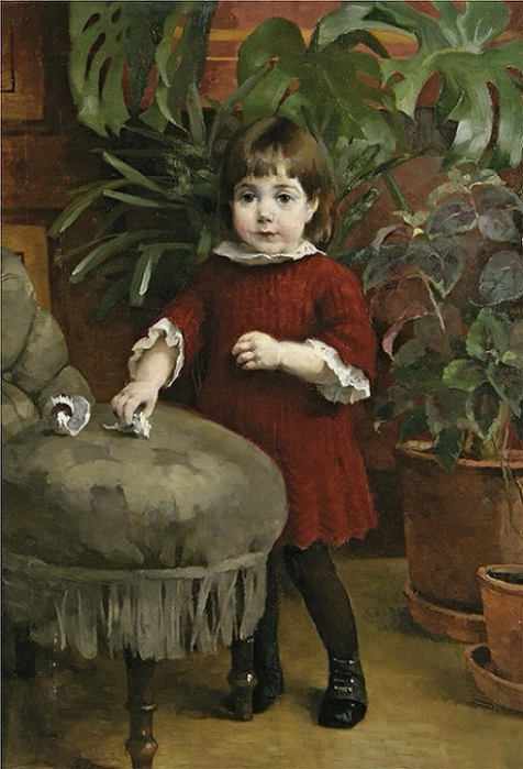 Lilla Gudrun (Little Gudrun), 1885 (476x700, 353Kb)