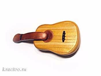 ЛЕПКА. Как сделать гитару из полимерной глины (1) (350x263, 36Kb)