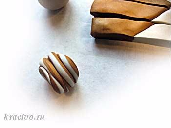 ЛЕПКА. Как сделать гитару из полимерной глины (5) (350x263, 52Kb)