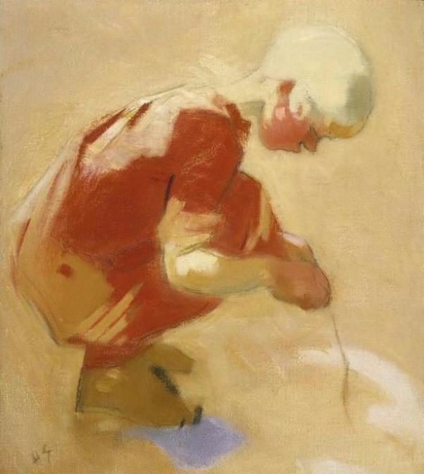 Girl on the Sand (602x673, 276Kb)