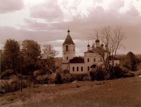 Село Вязовское Фурмановского р-на – родина поэта М. Дудина. (477x360, 124Kb)