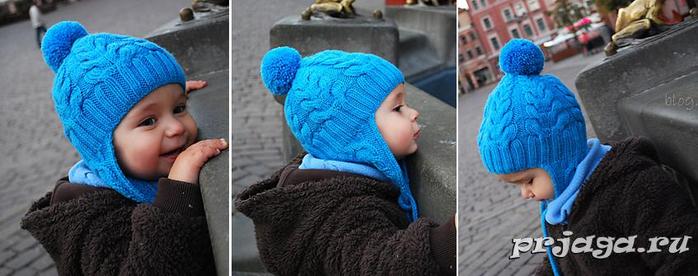Детская шапка «Я люблю косы» (700x276, 227Kb)