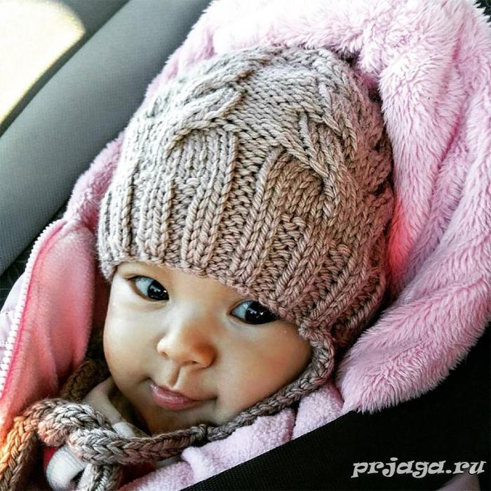 Детская шапка «Я люблю косы»7 (700x700, 496Kb)