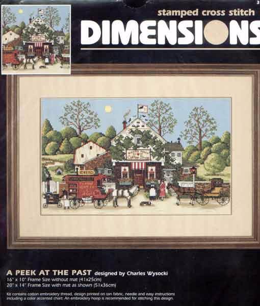 Dimension 3162 - A Peek at The Past by Charles Wysocki (510x600, 184Kb)