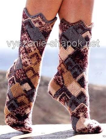 Красивые носки в стиле пэчворк/1783336_PICT0061 (350x459, 41Kb)
