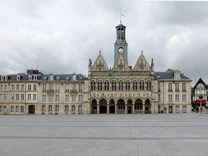 Yt FR 1955 Saint Quentin. The City Hall 1967г (700x525, 268Kb)