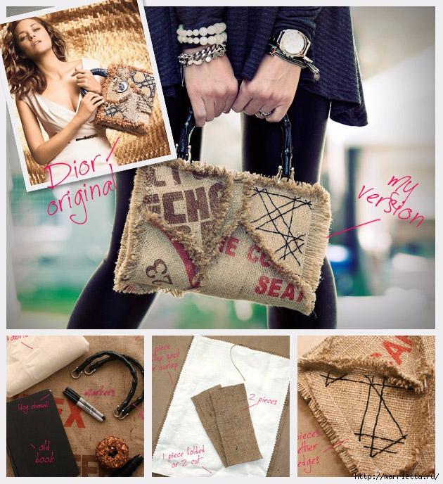 Креативная сумка из мешковины от Cathy. Мастер-класс (1) (630x688, 347Kb)