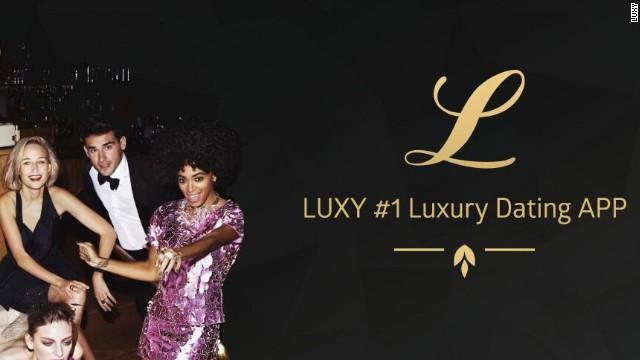 Luxy мобильное приложение для миллионеров