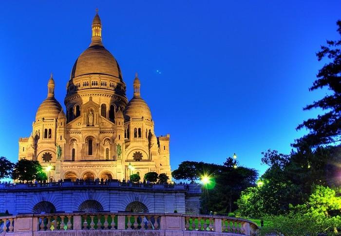 Прекрасный Париж — фотографии улиц Вечного Монмартр
