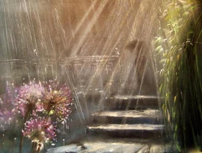 Юшина Елена дождь (700x528, 275Kb)