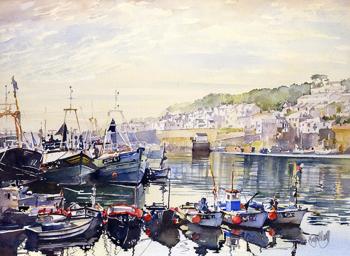 fishing-boats-in-newlyn-harbour-margaret-merry (700x513, 501Kb)