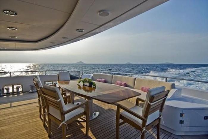 Интерьер дорогих яхт