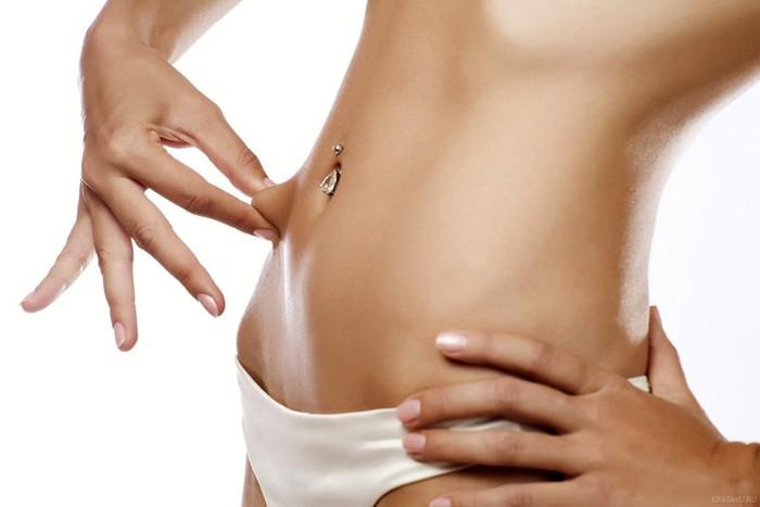 Худей! 5 точек на теле, которые избавят вас от свисающего жира
