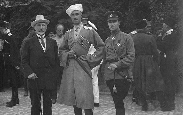 Александр Кривошеин, Петр Врангель, Павел Шатилов (600x378, 121Kb)
