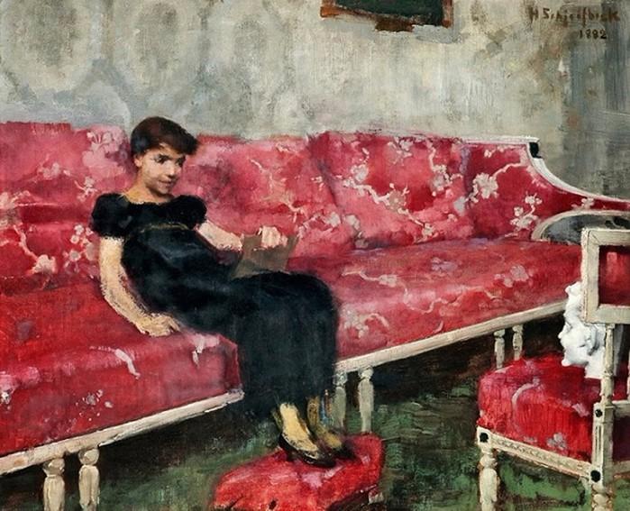 Хелене Шерфбек (Helene Schjerfbeck), художница с невероятно тяжелой судьбой