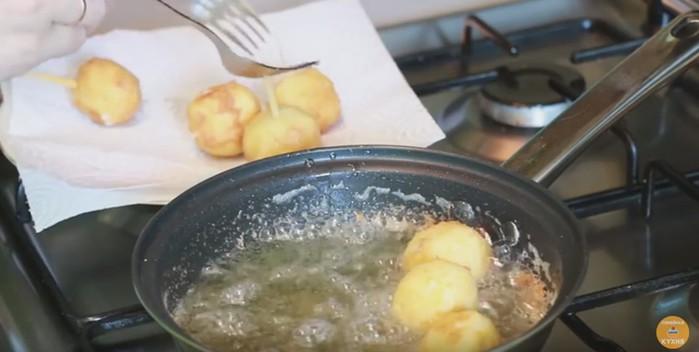 Куриные наггетсы с сыром   ну, очень вкусный рецепт! И интересный!