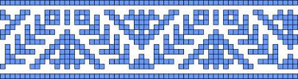 Норвежские жаккардовые узоры спицами - схемы 5 (434x116, 22Kb)