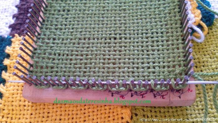 手工框架编织床毯及...... - maomao - 我随心动