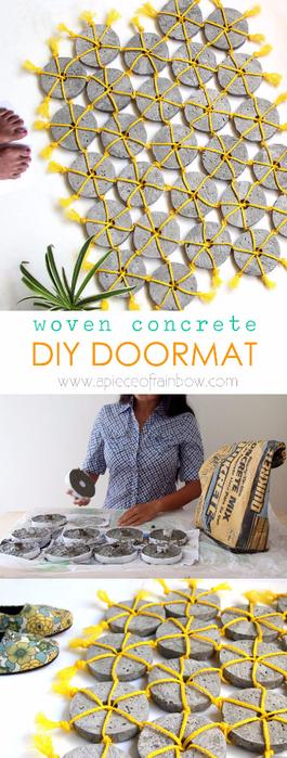 DIY-woven-concrete-doormat-apieceofrainbow-4 (265x700, 304Kb)