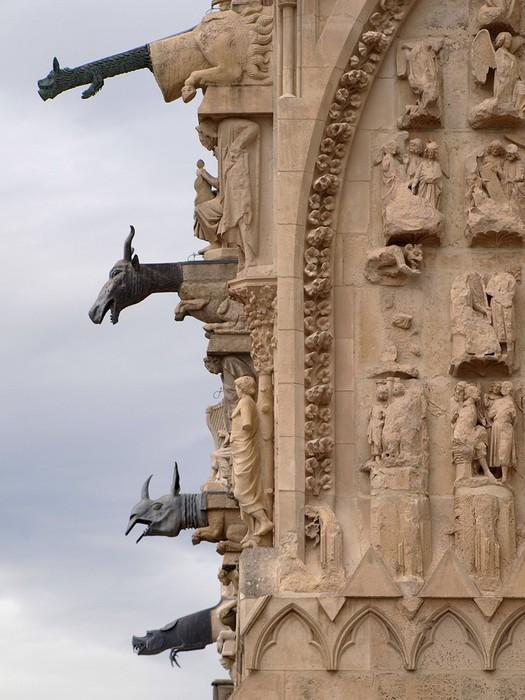 ФОТО: Нотр Дам де Реймс   Реймсский собор, место коронации французских монархов