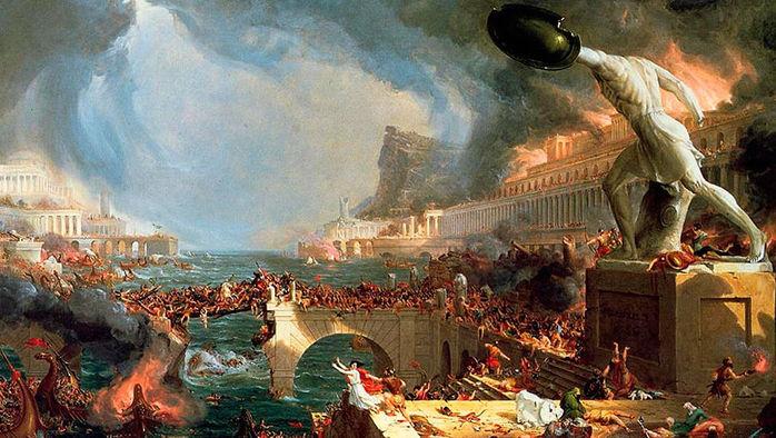 Томас Коул. Падение Империи. 1837 (700x394, 93Kb)