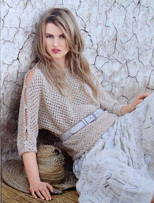Azhurnyj-bezhevyj-pulover-spitsami (500x660, 316Kb)