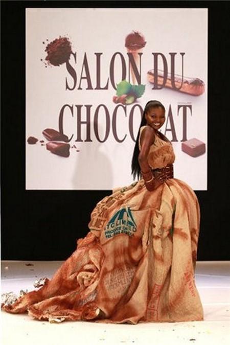 Девочки шоколадки (фото из Парижа)