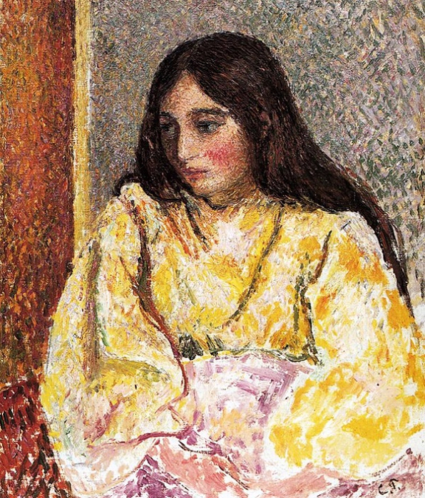 Портрет Жанны (Portrait of Jeanne), ок.1893 (596x700, 650Kb)