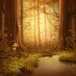 ������ jojo_autumn_forest_paper_16 (700x700, 458Kb)