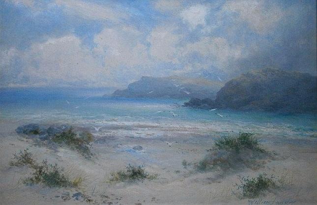 Coastal landscape. (645x417, 255Kb)