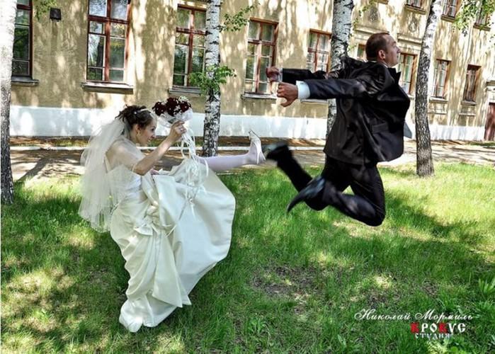 Смешные фото: яркие примеры того, как НЕ НАДО снимать свадьбы
