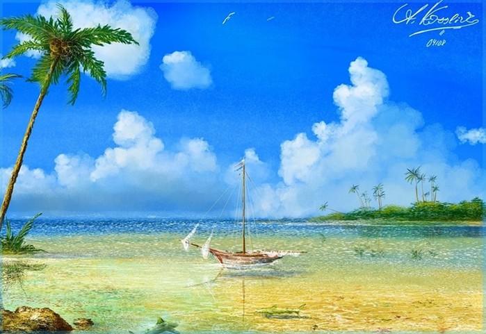 Творчество немецкого художника Андре Косcлика