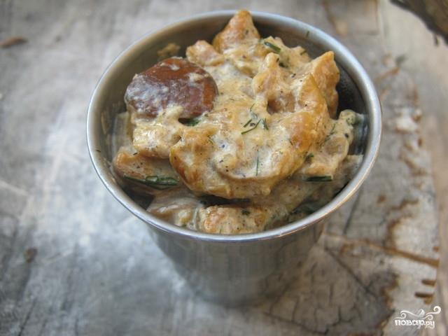 Соус для грибов в домашних условиях