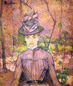 Анри де Тулуз-Лотрек Портрет Сюзанны Валадон 1885 (307x360, 92Kb)