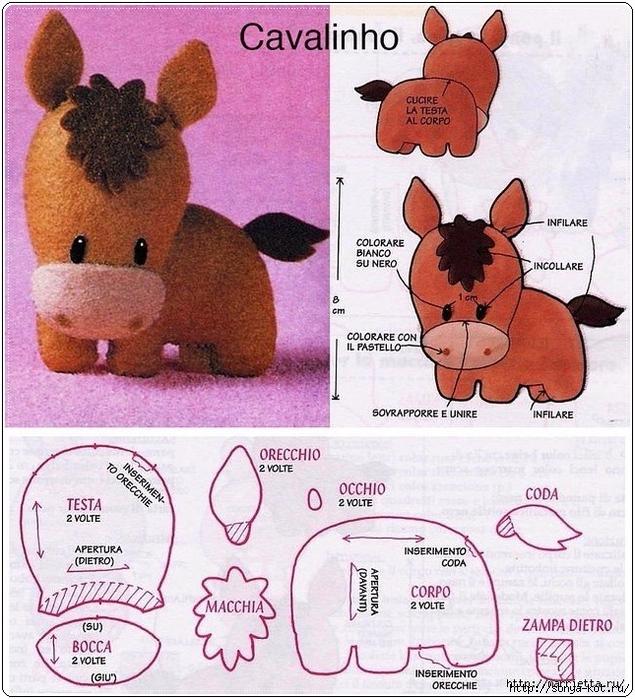 схема вязания игрушки тюлень белек из журнала сандра