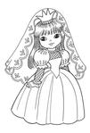 Превью раскраски для девочек 3 (409x604, 121Kb)